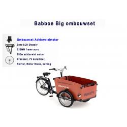 Babboe bog/dog bakfiets ombouwen tot een elektrische bakfiets