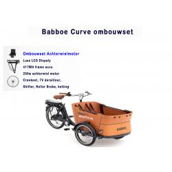 Babboe Curve bakfiets ombouwen tot een elektrische bakfiets