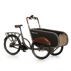 Soci.Bike RAL 7033 cementgrijs mat elektrische driewieler bakfiets