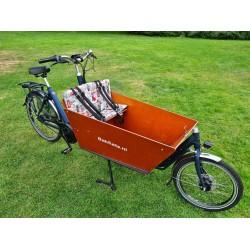 Bakfiets kussens geschikt voor Bakfiets.nl Cargo Bike Londen