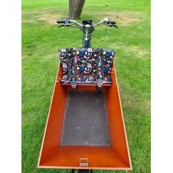 Bakfiets kussens geschikt voor Bakfiets.nl Cargo Bike Zebra